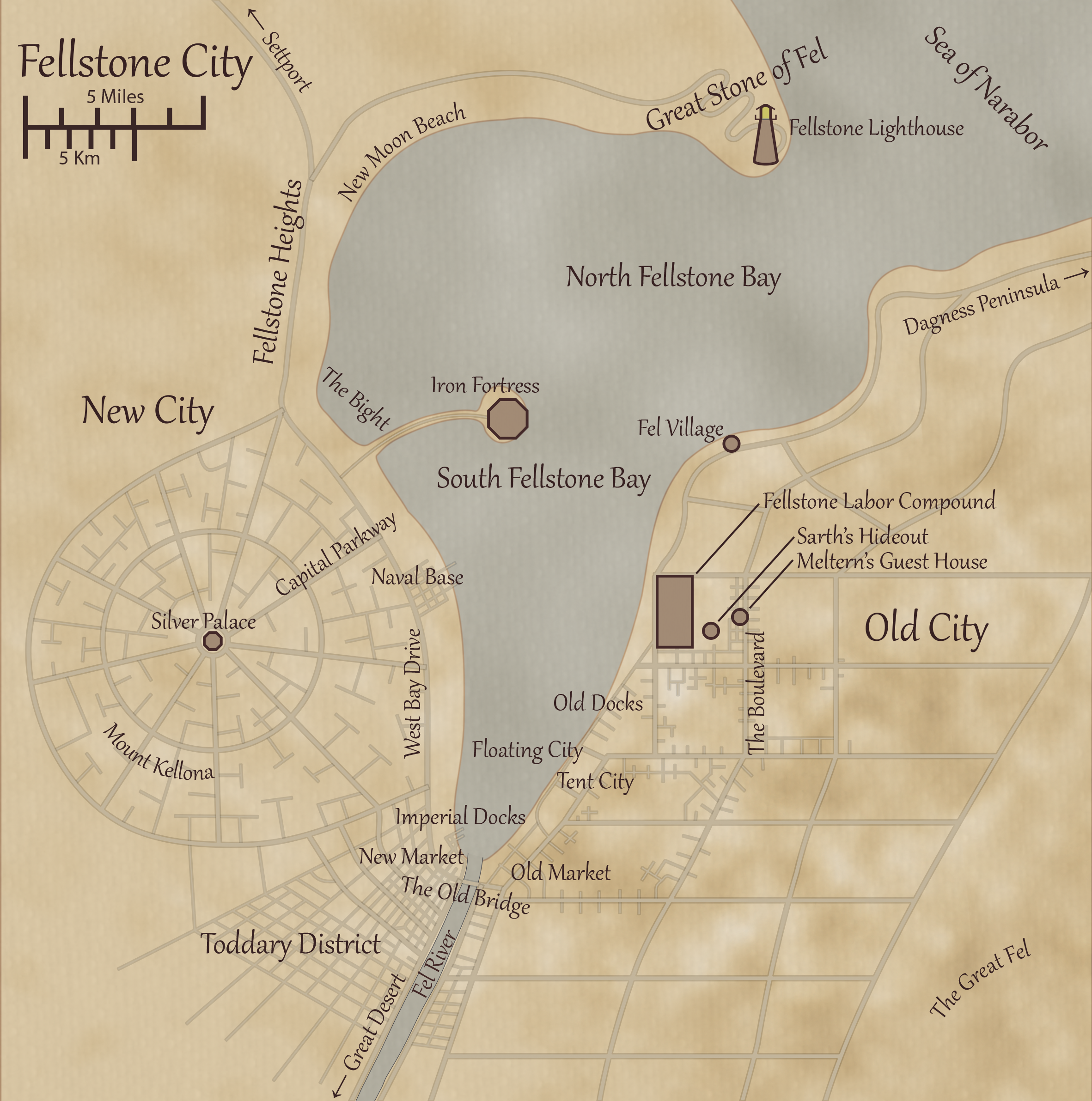 Fellstone City